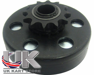 Max-Torque 12t 428 Pitch Centrifugal Clutch Blue / Light Spring UK KART STORE