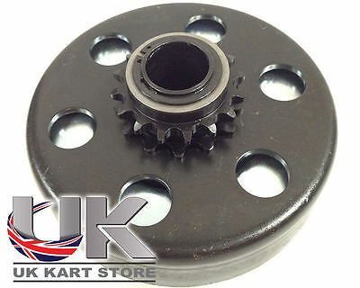 Max-Torque 16t 219 Pitch Centrifugal Clutch Blue / Light Spring UK KART STORE
