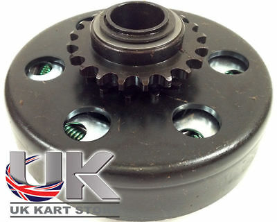 Max-Torque 20t 219 Pitch Centrifugal Clutch Black Spring UK KART STORE