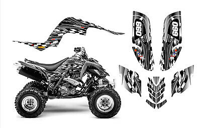 Raptor 660 660R Graphics Decal Sticker Kit #2500-Metal