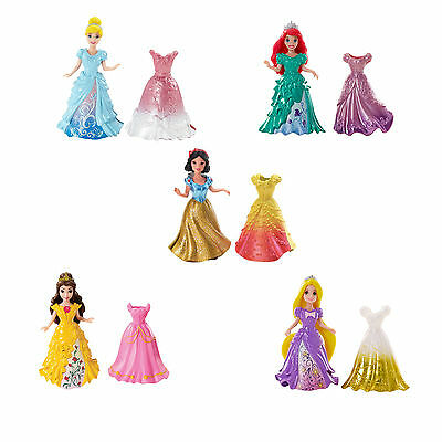 Mattel Disney Princess Little Kingdom Magi Clip Mini Doll with Fashion - NEW
