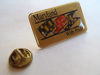 Pin's Maryland With Pride