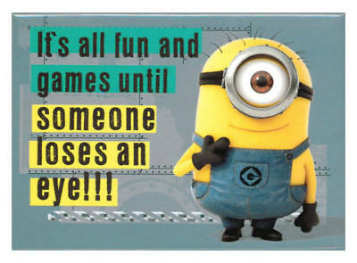 Despicable Me 2 All Fun And Games Magnet