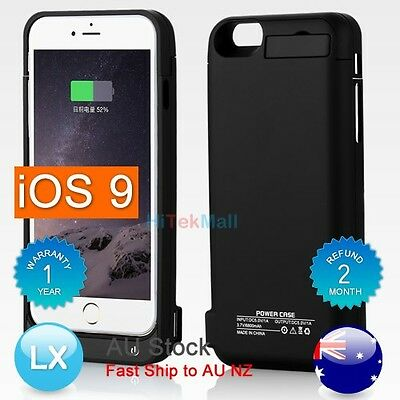 AU 6800mAh Portable External Power Bank Battery Charger Case For iPhone 6 6S
