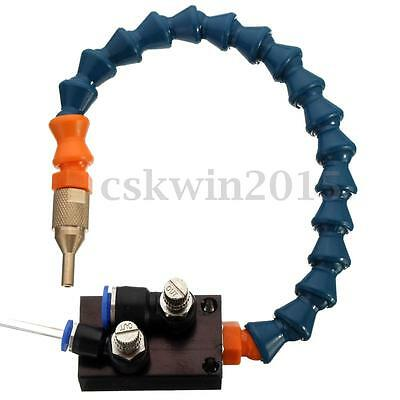 Mist Coolant Lubrication Spray System for CNC Lathe Milling Drill Grind Machine
