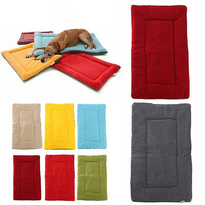Tapis Coussin Lit Couchage Matelas Maison Velours Pour Chien Chat Animal Dog Bed