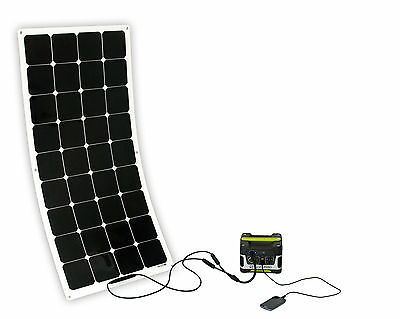 solar generator goal zero yeti150 mit semiflexiblen 100wp. Black Bedroom Furniture Sets. Home Design Ideas