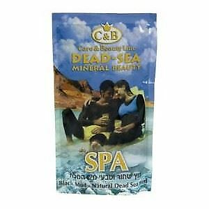 Dead Sea,C&B, Care & Beauty, Natural Mineral Black Mud Bag, 500g