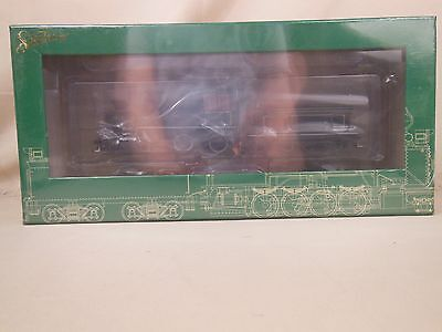 BACHMANN On30 4-4-0 AMERCIAN STEAM LOCO (DCC) PAINTED UNLETTERED WHITE TRIM