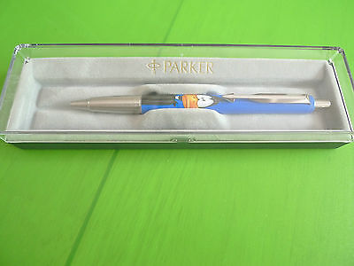 VINTAGE PARKER BALLPOINT W /DAFFY DUCK -WARNER BROS-NEW WITH BOX-MADE IN UK