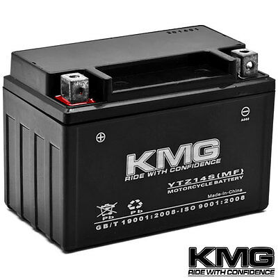 NEW High Performance 12V SMF Battery NEW Replacement YTZ14S Maintenance Free