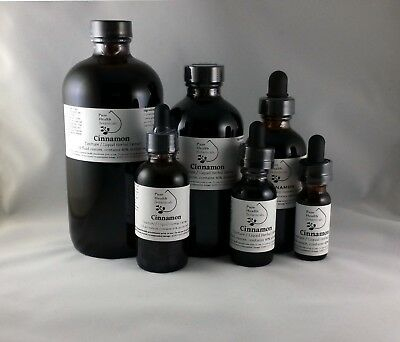 Cinnamon Tincture/Extract- Digestion, Highest Quality, Multiple Sizes