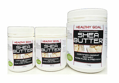 Certified Organic ~ SHEA NUT BUTTER ~ Cosmetic Grade ~ 100% Pure & Refined