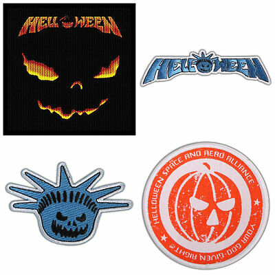 Helloween Sew On Patch/Patches NEW OFFICIAL. Choice of 4 designs