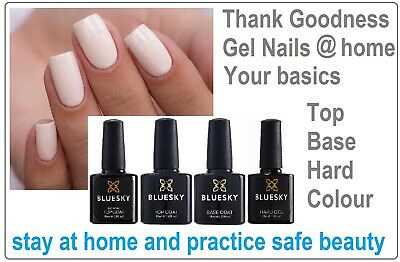 Bluesky Large 15ml Top And Base Coat Large No Wipe Top Summer Most Popular Deal