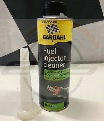 BARDAHL Fuel Injector Cleaner Additivo Pulizia Urto Iniettori Benzina 300ml