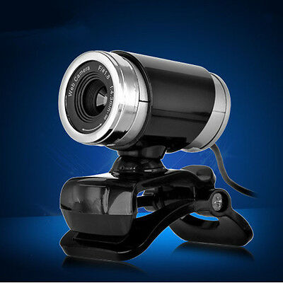 USB 50MP HD Webcam Web Cam Camera for Computer PC Laptop Wired Camera Black New