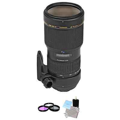 Tamron 70-200mm f/2.8 Di LD (IF) AF Lens for Nikon + UV Kit & Cleaning Kit