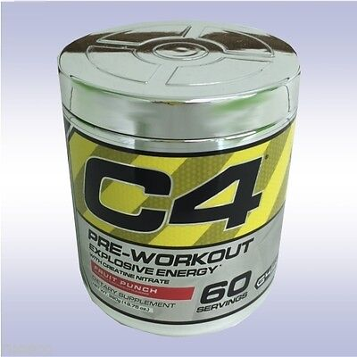CELLUCOR C4 (60 SERVINGS) preworkout creatine nitrate beta alanine no3 energy g4