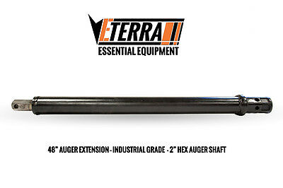 """4 Foot Auger Extension for Auger Systems - 2"""" Hex - Adapters Available!"""