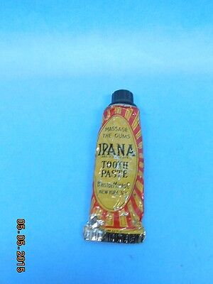 Vintage Sample Size Ipana Toothpaste Tube Tooth Paste Teeth Smile Related