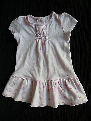 Baby clothes GIRL 3-6m NEXT soft cotton short sleeve pink dress SEE MY SHOP!