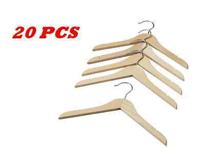 IKEA 20 pcs Wooden Baby Kids Clothes Hangers Coat Dress Hanger-NEW