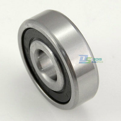 10 Sizes Silver Deep Groove Ball Bearing 6200 6201 6202 6003 6204 6205-6209 2RS