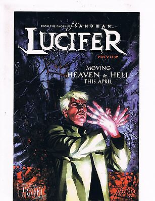 Lucifer preview from 2000 series  - 9.4 NM condition