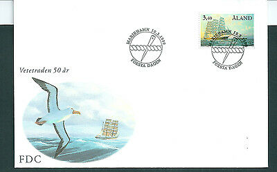 Aland 1999 Sailing Ship on unaddressed post office first day cover