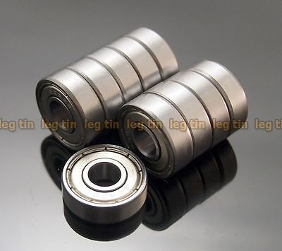 [20 pcs]  8x22x7mm  608zz  8*22*7  Metal Shielded Ball Bearing Bearings