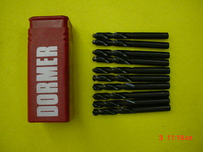 Dormer - A230 - # 1 HSS Screw Machine Drills (Pack of 10 Bits) Right Hand