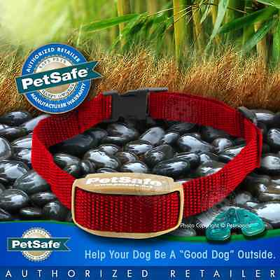 PetSafe Pawz Away Extra Red Collar Dog Cat Receiver Outdoor Indoor PWF00-13664
