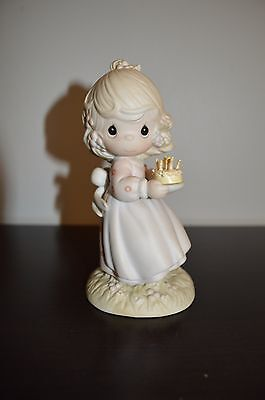 """Precious Moments """"May Your Birthday Be A Blessing"""" figurine"""