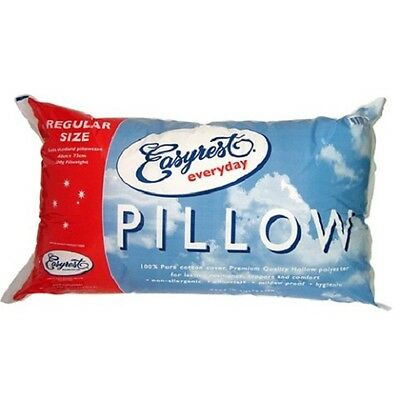 New Easyrest Everyday Regular Normal Standard Pillow Cotton Cover AU