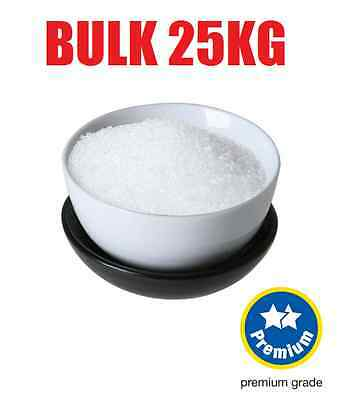 EPSOM SALTS ~ Bulk 25Kg ~ Highest Bath Pharmaceutical Grade ~ Bath / Fertiliser