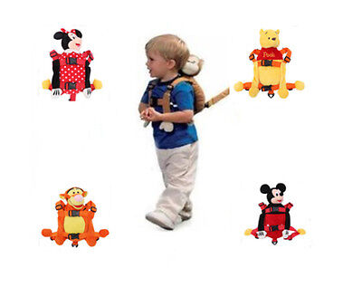New Baby Toddler Safety Walking Reins Backpack Harness with Strap