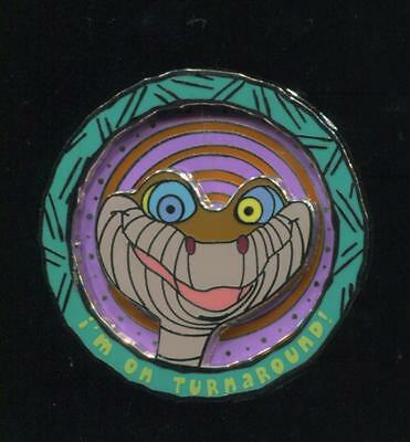 WDW Cast Exclusive Kaa Jungle Book Turnaround PP PRE PRODUCTION Disney Pin 73208
