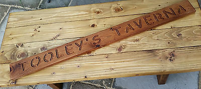 Wooden Personalized Plaque Personalised Sign Oak Walnut Pine Carved House Wall