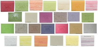 TILLEY SOAP BULK BUY - 40 x  100GM SOAPS (5 X EIGHT FRAGRANCES)