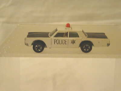 Vintage Mattel Hot Wheels Red Line 1968 Police Cruiser Toy Car