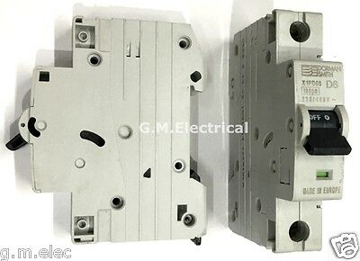 Dorman Smith 6 Amp Type D Single Pole Mcb Circuit Breaker 6A / D6 X1Pd06