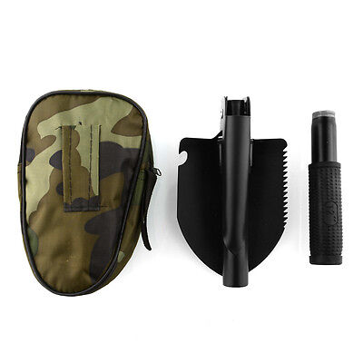 Military Folding Shovel Survival Spade Camping Outdoor Tool Kit Durable