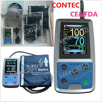 CONTEC ABPM50 3 CUFFS Ambulatory 24 hours Automatic Blood Pressure Monitor(NIBP)