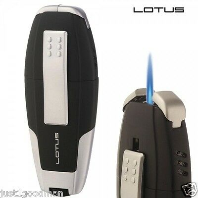 *New in Box* Lotus L9 Nautilus Torch Lighter Matte Black/Chrome (MSRP:$79)