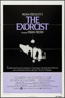 THE EXORCIST - original film / movie poster