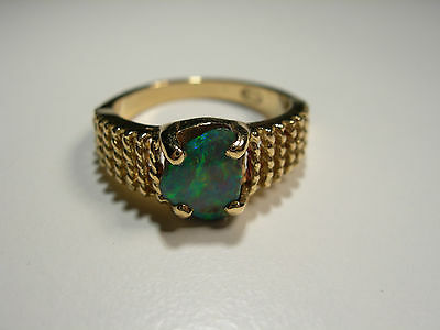 18ct Gold Ring with Boulder Opal (Lot 2247)