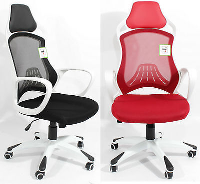 Office Chair Luxury High Back Ergonomic Padded Mesh PC Computer Seat Adjustable