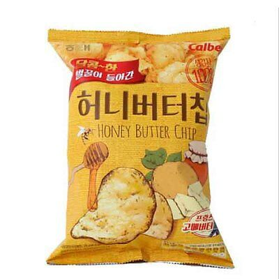 HAETAE Korean Honey Butter Chip 120g (1pack) Korean Bagged Chip Potato Snack