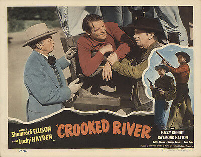 Crooked River 1950 Original Movie Poster Action Romance Western